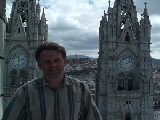 Quito (Equador), The Notre Dame Basilica - September 2005