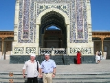 Samarkand (Uzbekistan), with organbuilder L. Skoczylas - September 2006