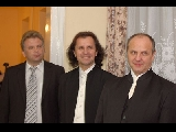 Przemyśl, with Robert Cieśla - tenor and Ryszard Cieśla - baryton, after the concert in Cathedral - November 2008,