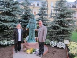 Moscow, with Andriej Potocki - sculptor, September 2011